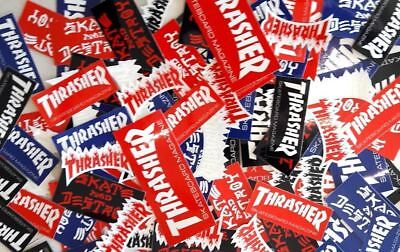 Thrasher Magazine Stickers 5 Pack Assorted FREE POST Skateboard decal Sticker