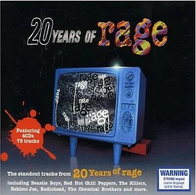 20 Years of Rage - Various Artists - 4 CD Box Set