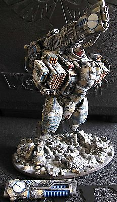 40K Tau Empire KV128 Stormsurge Gargantuan Battlesuit painted.