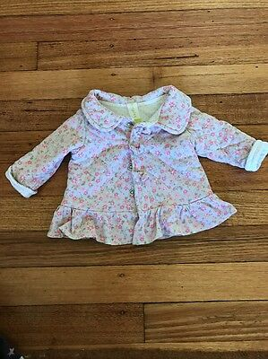 Baby Girls 000 Winter Jacket Big W Dymples