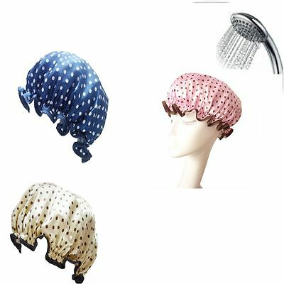 Wash Tool Salon Product Protect Hair Bathing Shower Cap Waterproof Hats