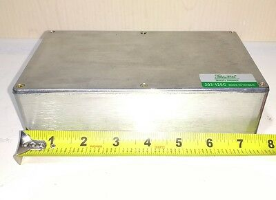 Large Aluminum Electronics Enclosure Project Box Case Metal Electrical 4.5x7.5x2