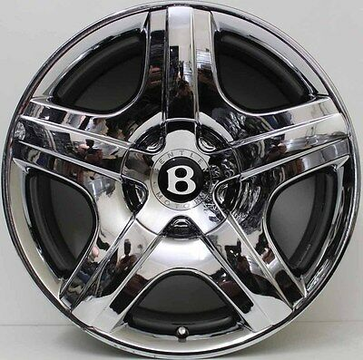 19 inch GENUINE BENTLEY CONTINENTAL GT & FLYING SPUR  2009 MODEL  ALLOY WHEELS