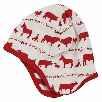 Pigeon-Organics For Kids berretto far myard Rosso 6 – 12 M (Y9i)