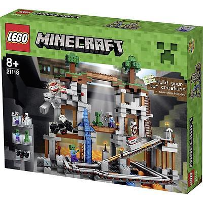*Retired* Brand New and Sealed LEGO Minecraft (#21118) Set