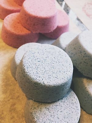 3 Pack White Musk Scented aromatherapy Bath Bomb Fizzie