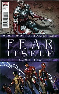 Fear Itself Comic by Marvel Comics - November 2011 issue 6