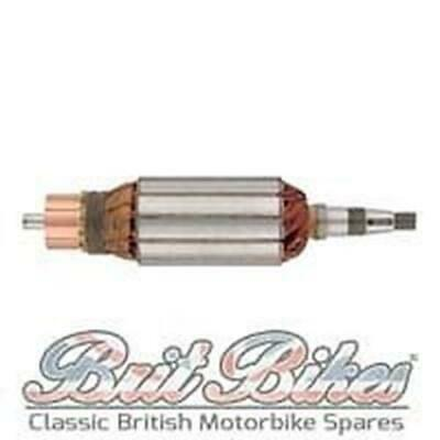 DYNAMO ARMATURE - BSA - As fitted to Lucas E3L Dynamos - 190mm tapered - 200752