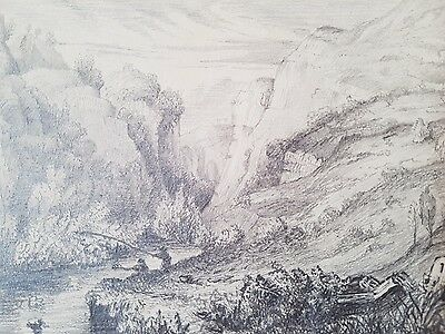 Circa 19th century - Pencil Drawing - View in DoveDale