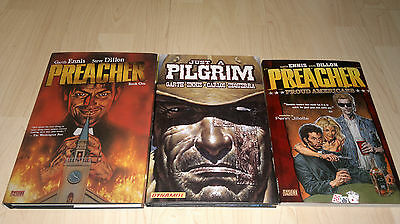 Preacher and Just A Pilgrim graphic novel lot