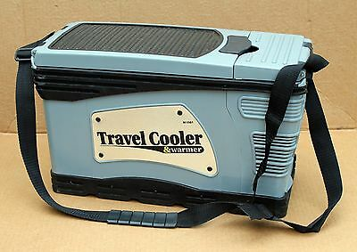 12V portable thermoelectric camping car fridge travel cooler & warmer 6.5L