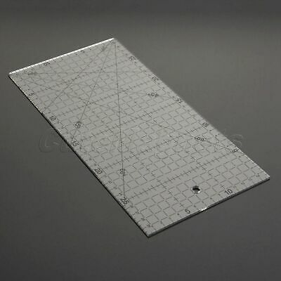 Sew Easy Rectangle Patchwork Rulers Qulting Sewing Cutting Tailor Tools 30*15cm
