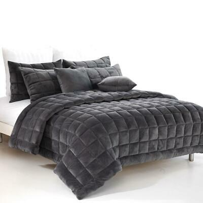 Alastairs Augusta Faux Mink Quilt Set or Accessories