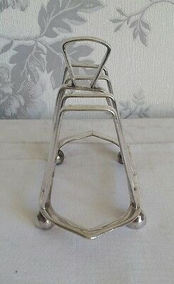 A Vintage Silver Plated Toast Rack