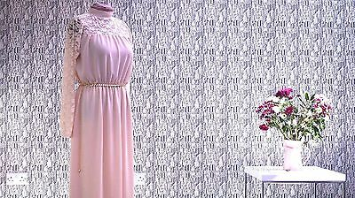 Womens Long Sleeve Dress UK Free Size 8  - 16 Party Evening Prom Maxi Floral