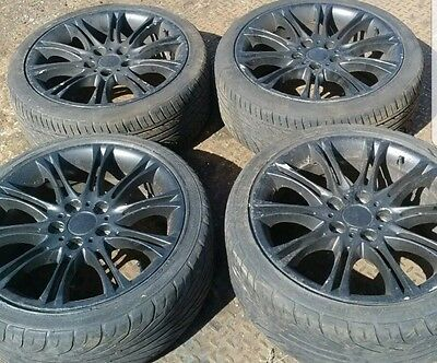 "18"" 5x120 BMW MV2 Style Wheels with Tyres"
