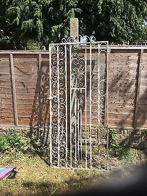 Reclaimed Cast Iron Gate