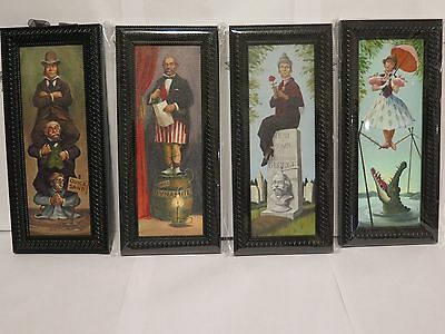 Disney Haunted Mansion Stretch Portrait Framed Art Mini Canvas Set Tightrope