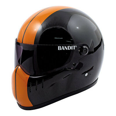 Casque Moto Integral Bandit Xxr Taille M  Black/ Orange Helmet