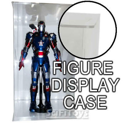 1/6 Sixth Scale Figure Clear Display Case Box Perfect Hot toys Sideshow Enterbay
