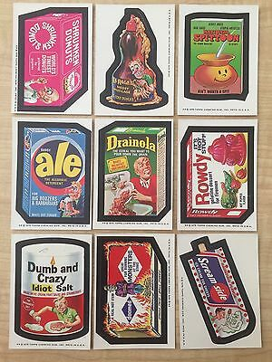1975 Topps Wacky Packages 13th Series 13 14/30 Vtg Doomed Ale Sneezer