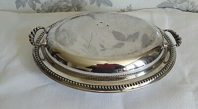 A Victorian Silver Plated Entrée Dish by Thomas White