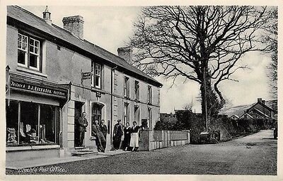 WALES - BRECHFA, The Post Office, Carmarthenshire.