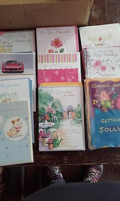 Bundle/Lot of 44 New Greeting Cards with Envelopes Mixed