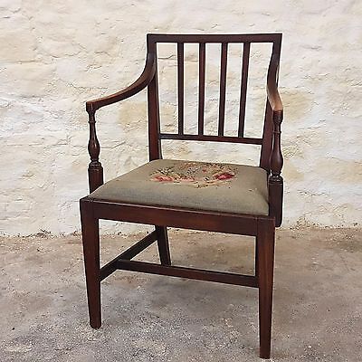 Regency Mahogany Carver Armchair C1820 (George III Georgian Antique)