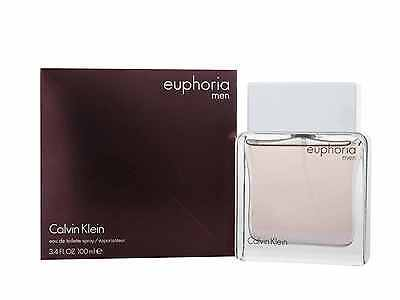 Calvin Klein Euphoria For Men 100ml EDT Spray - Sealed Brand New
