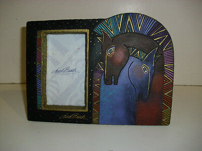 Laurel Burch New Old Stock Embracing Love Picture Frame Horses