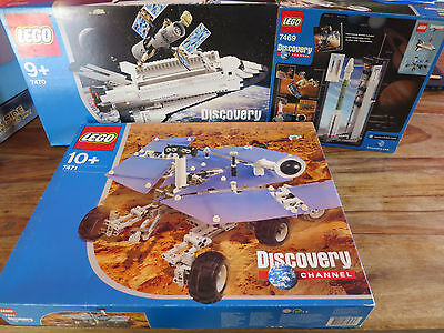 (Mb) Lego Discovery 7469 7470 7471 Nip Unopened Rover Shuttle Rocket Selecting