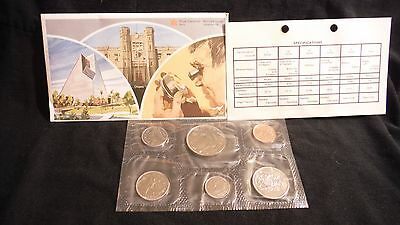 1981  Canada Royal Canadian Mint 6 Coin Proof Like Set Uncirculated  mint set