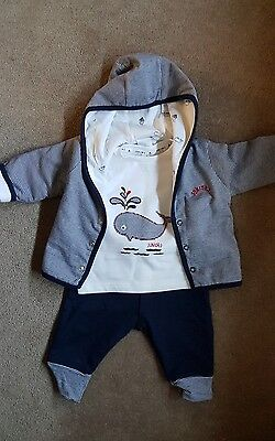 Junior J Baby Boy Outfit 3-6 Months NEW