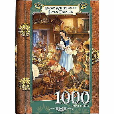 MasterPieces 1000-Piece Snow White and the Seven Dwarfs Book Box Jigsaw Puzzle