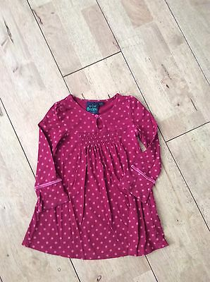 Girls Dress By Mini Boden Age 2-3 Years