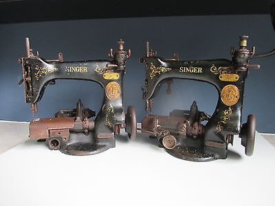 Rare 1911 and 1912 Industrial Singer 25-53  Sewing Machine for restoration