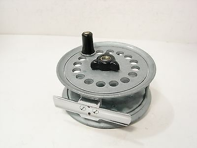 "Rare Vintage Antique Alloy Abu Svangsta Double 3 ½"" Trout Fly Fishing Reel"