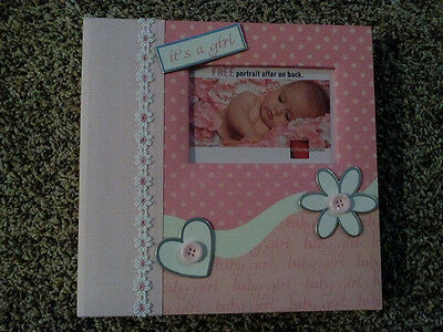 Baby Girl Photo Album Adorable New In Gift Box
