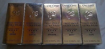 LANCOME Teint Idole Ultra Wear Foundation Shades for Mid and Dark Skin Tones 5ml