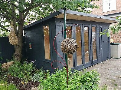 15x9 Double glazed   Summer House, Home Office,, Annex, delivered and erected