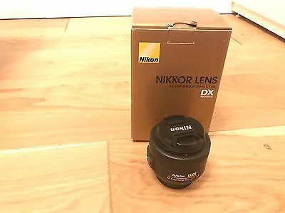 Nikon AF-S DX Nikkor 35mm f/1.8 G Lens 35 f1.8 for D5500 D7200 D3300