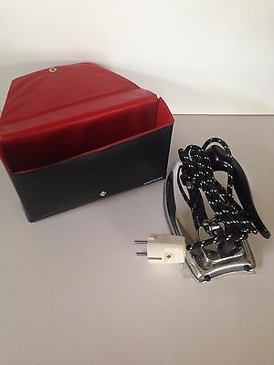 Retro Vintage Pifco Travel Iron Perfect Condition In Original Case Ironing