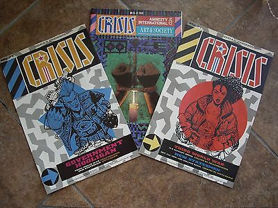 Two Eighties 2000Ad (Crisis)Comics & A Crisis Special