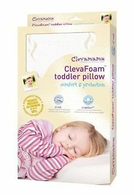 Clevamama ClevaFoam Memory Foam Toddler Pillow new sealed boxed