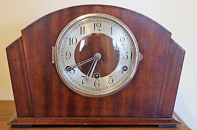 Large Art Deco Chiming Mantle Clock