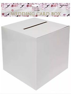 1X Plain Wedding Box To Recieve Money/gift Cards