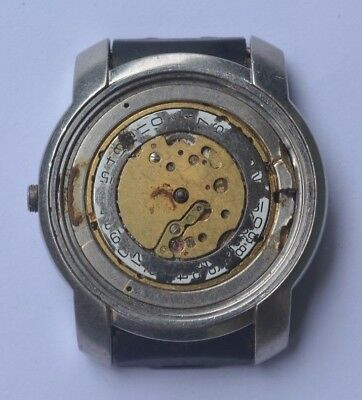 Vintage Baume & Mercier Geneve St Steel Watch. Ref , Cal BM-11895 For Repairs