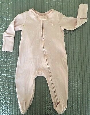 Baby Gap Baby Girl Zip Up Romper Size 0-3 Months
