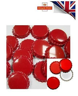 GOOD  QUALITY Crown Caps Capping 26mm Home Brew BOTTLING GLASS & PET COLOUR MIX